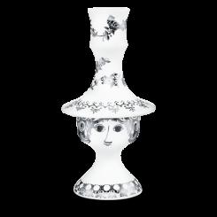 Bjørn Wiinblad Rosalinde Lysestage 170 mm Sølv