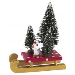 Rikki Tikki Medusa Kælk med juletræer og gås