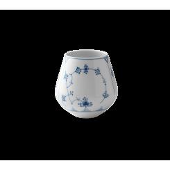 Royal Copenhagen Musselmalet Riflet Vase lille