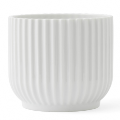 Lyngby Porcelæn Urtepotteskjuler Lille Hvid