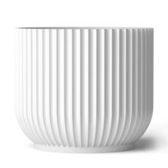 Lyngby Porcelæn Urtepotteskjuler Stor Hvid