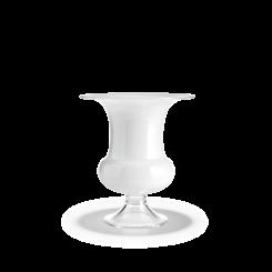 Holmegaard Old English Vase Hvid 19 cm