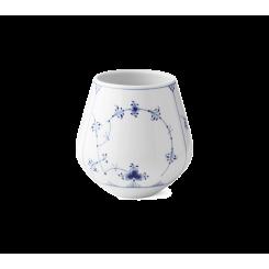 Royal Copenhagen Musselmalet Riflet Vase mellem