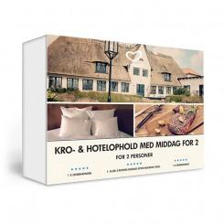 Go Dream Kro- og Hotelophold med middag for 2