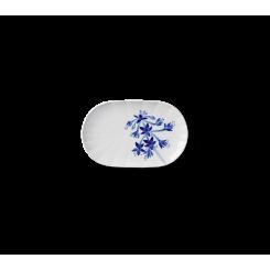 Royal Copenhagen Blomst Fad ovalt Hosta