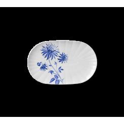 Royal Copenhagen Blomst Fad ovalt Dahlia