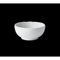Royal Copenhagen Hvid Halvblonde Skål 18 cm