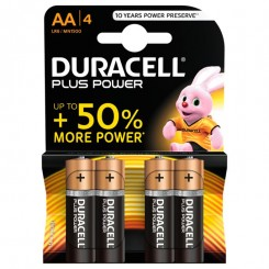 Duracell Batterier Plus Power AA