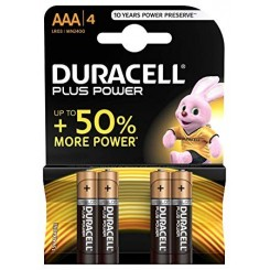 Duracell Batterier Plus Power AAA
