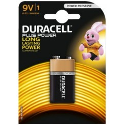Duracell Batteri Plus Power 9V
