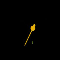 Braun BC02XB Rejsevækkeur sort