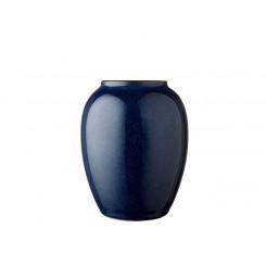 Bitz Vase H12,5 cm Mørkeblå