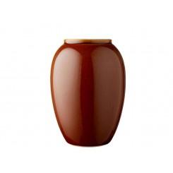 Bitz Vase H20 cm Amber