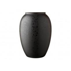 Bitz Vase H20 cm Sort mat
