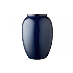 Bitz Vase H25 cm Mørkeblå