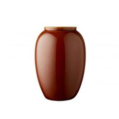 Bitz Vase H25 cm Amber