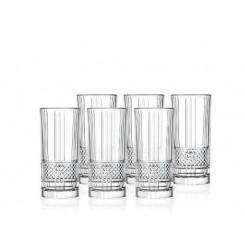 Lyngby glas Brillante highball 37 cl. 6 stk.