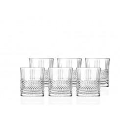 Lyngby glas whiskey brillante 34 cl. 6 stk.