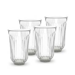 Lyngby vandglas klart glas 4 stk. 42 cl