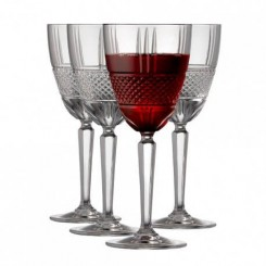 Lyngby Glas Brillante rødvinsglas 29 cl. 4 stk.