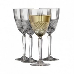 Lyngby Glas Brillante hvidvinsglas 23 cl. 4 stk