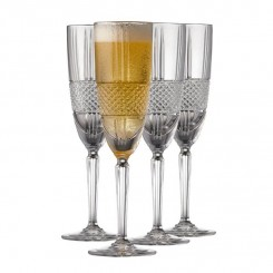Lyngby Glas Brillante champagne 19 cl. 4 stk.