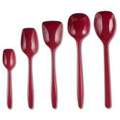 Rosti grydeskesæt 5 dele rød