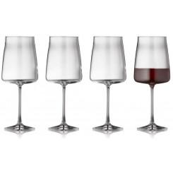 Lyngby Glas Zero Rødvinsglas 54 cl. 4 stk.