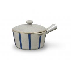 Lyngby Porcelæn DAN-Ild Saucekande, Stribe, 50 Cl