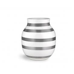 Kähler Omaggio Vase Sølv, Mellem
