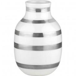 Kähler Omaggio vase sølv H2,5