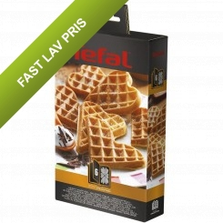 Tefal Snack Collection box 6: Hjerteformede vafler