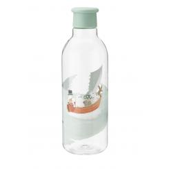 Rigtig DRINK-IT vandflaske, 0,75 l. - dusty green - Moomin