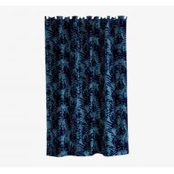 Södahl Leaves Badeforhæng China blue/indigo