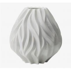Morsø Flame vase 23 cm hvid porcelæn
