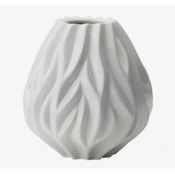 Morsø Flame vase 19 cm hvid porcelæn