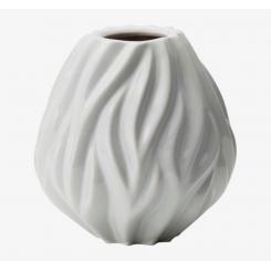 Morsø Flame vase 15 cm hvid porcelæn
