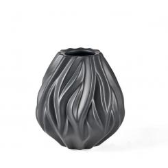 Morsø Flame Vase Sort, 15cm
