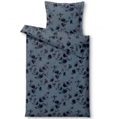 Södahl sengetøj 140 x 220 delicate petals china blue