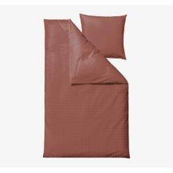 Södahl Clear Sengetøj 220x140 cm - Bomuld - Rosewood