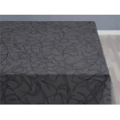 Södahl Organic Breeze Damask Dug 140 x 320 cm Grey