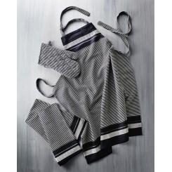 Bastian Jumbo Tekstilsæt Sort/natur
