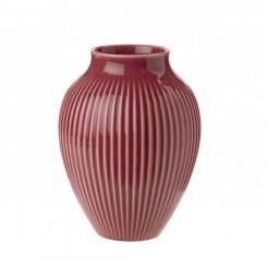 Knapstrup Vasen Bordeaux - 12,5 cm