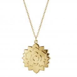 Georg Jensen 2020 ornament rosette i kæde forgyldt