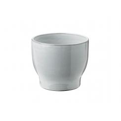 Knabstrup Keramik Urtepotteskjuler Ø14,5 cm, hvid
