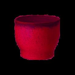 Knabstrup Keramik Urtepotteskjuler 12,5 cm rosa