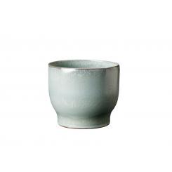 Knabstrup Keramik Urtepotteskjuler Ø14,5 cm, soft mint