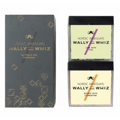 Wally and Whiz Winter Garden highcube vingummi gavesæt, grå