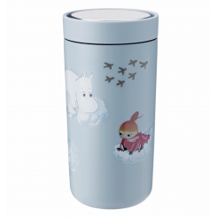 Stelton x Moomin To Go Click termokop, soft cloud