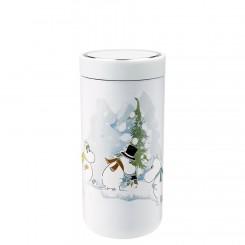 Stelton x Moomin To Go Click 0,4L, Soft white